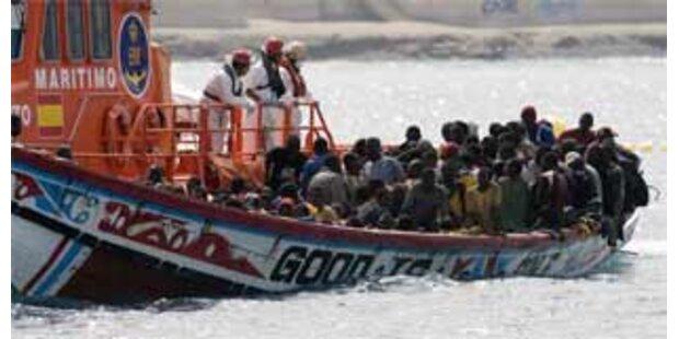 Flüchtlingsdrama vor Küste Spaniens