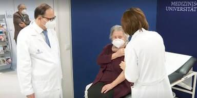 Worauf sich Frau Hofer nach der Impfung freut