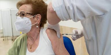 Impfung Über-75-Jährige