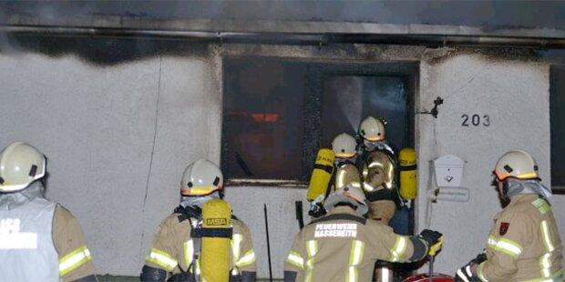 Brand zerstört Wohnhaus in Nassereith