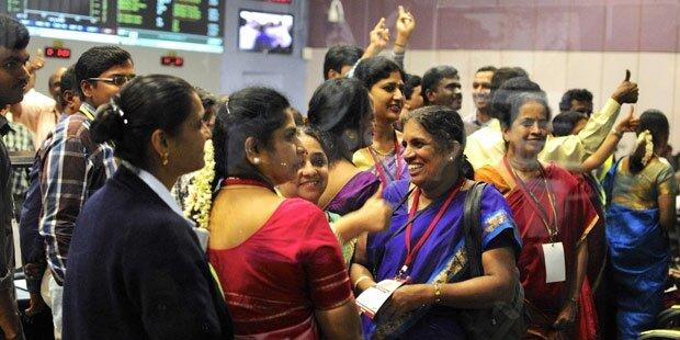 Indische Billig-Sonde erreicht den Mars