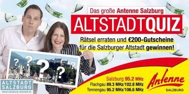 Das große Antenne Salzburg Altstadtquiz