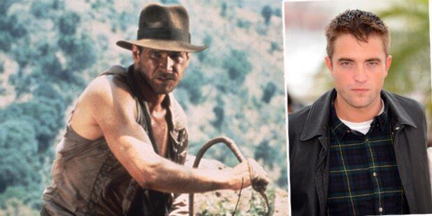 Robert Pattinson bald Indiana Jones?