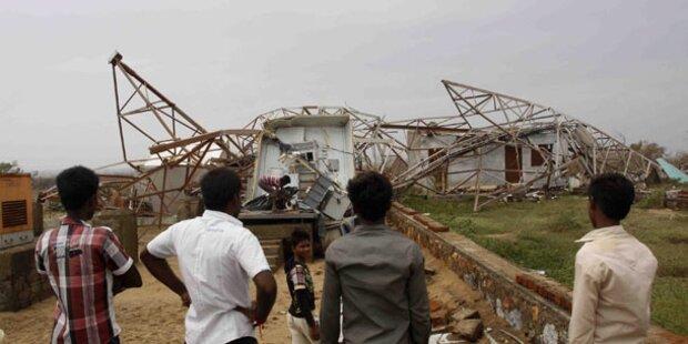 Super-Zyklon: 26 Tote und 250.000 Obdachlose
