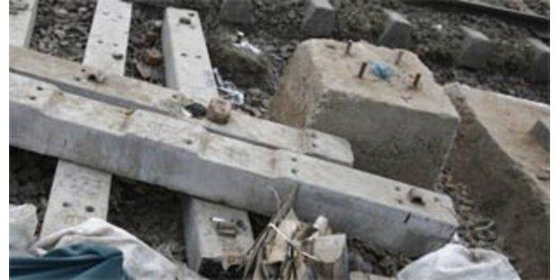 18 Tote bei Zugunglück in Indien