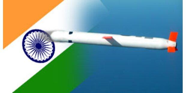 Indien testete erfolgreich atomwaffenfähige Rakete