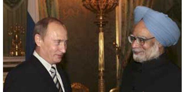 Indien und Russland kämpfen gemeinsam gegen Terror