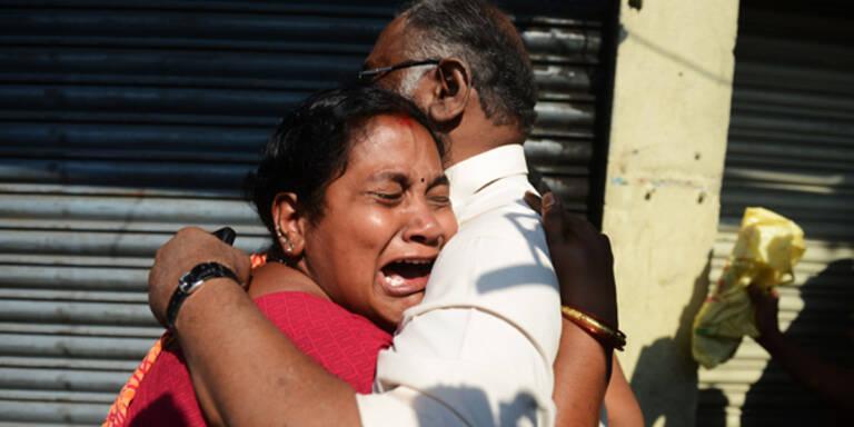 Bus in Flammen: Mindestens 40 Tote