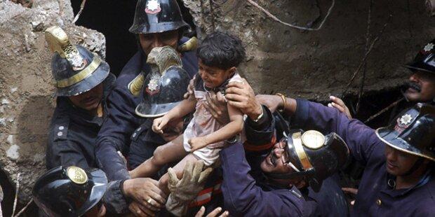48 Tote nach Hauseinsturz in Indien