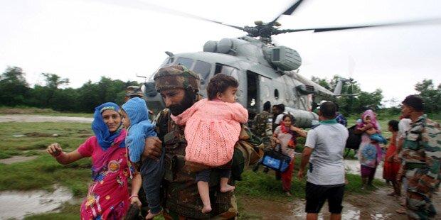 260 Tote nach Monsun-Regen