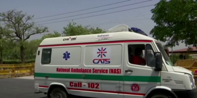 Indischer Krankenwagen