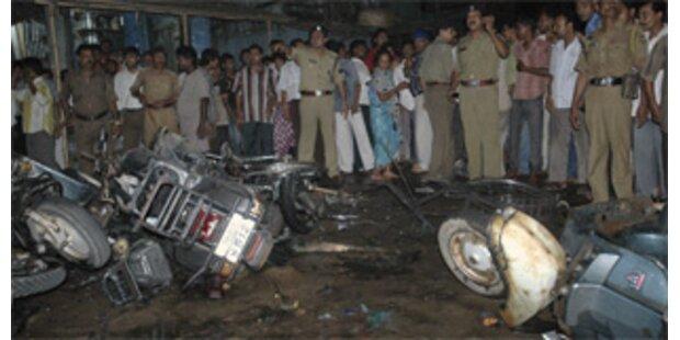 Mehrere Verletzte bei Bombenexplosionen in Indien