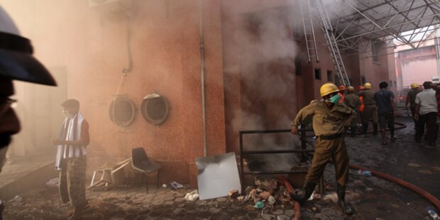 90 Tote bei Brand in Krankenhaus