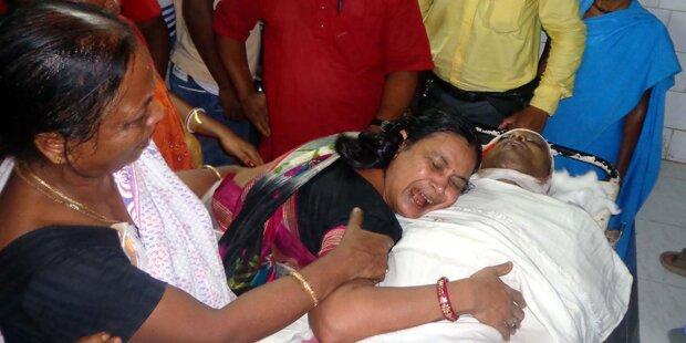 Erstochen: Erneut Journalist in Indien getötet