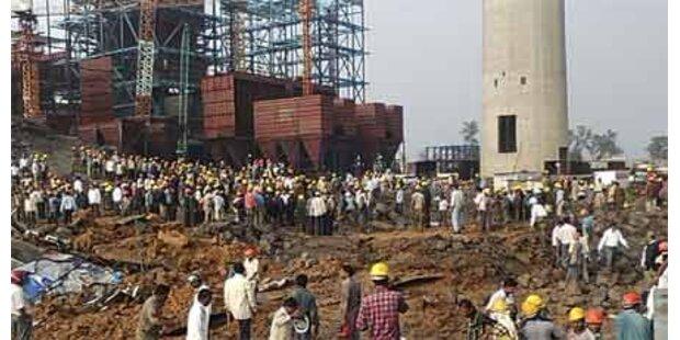 Indien - 35 Tote bei Einsturz von Schlot