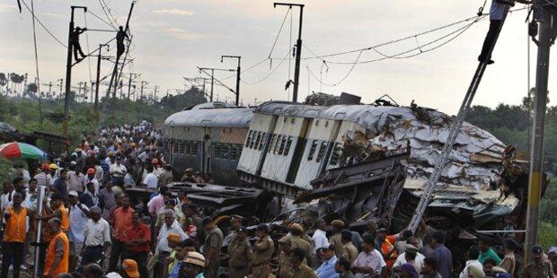 Mehrere Tote bei Zugsunglück in Indien