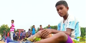 Indischer Messi trainiert bei den Bayern mit