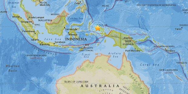 Indonesien: Dutzende Verletzte bei Erdbeben