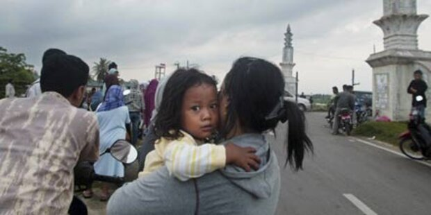 Sumatra: Erdbeben löst Tsunami aus