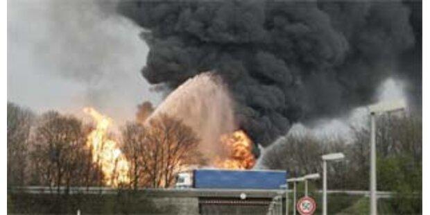 Gewaltige Explosion in deutschem Chemiewerk