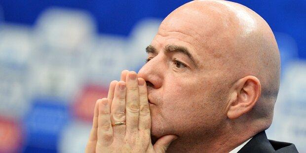 Aufreger: FIFA plant Ende des Confed Cups