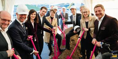 Spatenstich von Infineon in Villach erfolgt