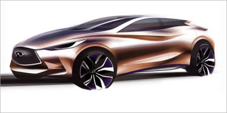 Infiniti zeigt den Q30 Concept