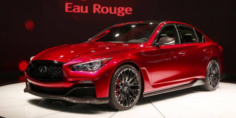 Infiniti zeigt das Q50 Eau Rouge Concept