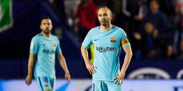 5:4 - Verrückte erste Saisonpleite für Barca