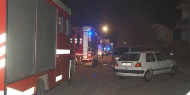 Frau aus brennender Wohnung gerettet