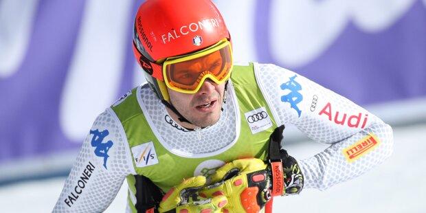 Italo-Ski-Star erleidet Kreuzbandriss