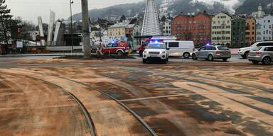 Bus hinterlässt Ölspur in der ganzen Stadt
