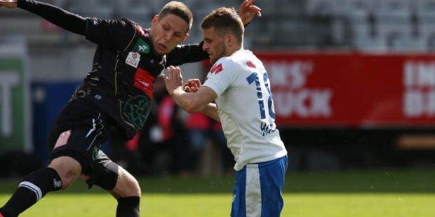 Aufsteiger Grödig im Europacup - Austria out