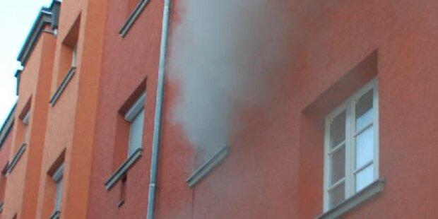 Innsbrucker aus brennendem Bett gerettet