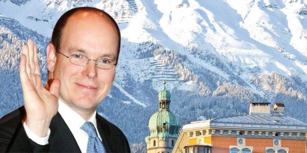 Albert in Innsbruck gelandet!