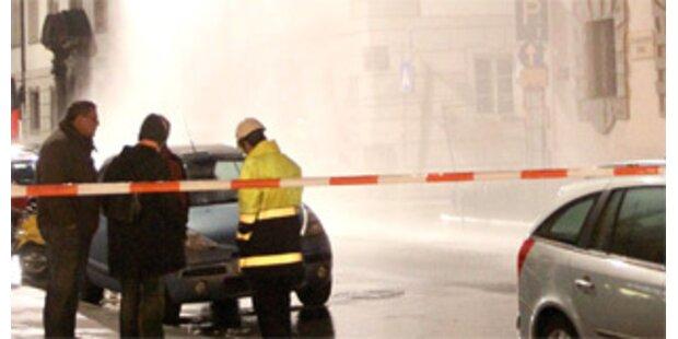 Hauptgasleitung von Museum in Innsbruck angebohrt