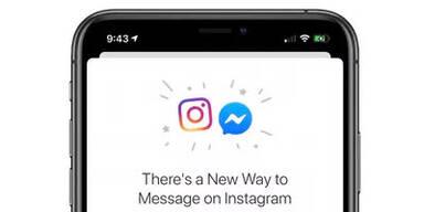 Facebook hat Instagram mit Messenger verzahnt