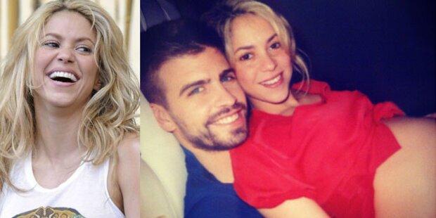 Shakira & Pique: So schön ist schwanger!