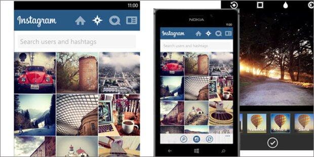 Instagram für Windows Phone ist endlich da