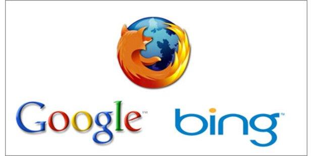 Bing und Firefox legen kräftig zu