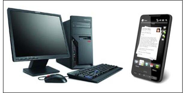 Internet-Zugriffe: Handys überholen PCs