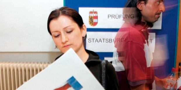 Wieder mehr neue Österreicher