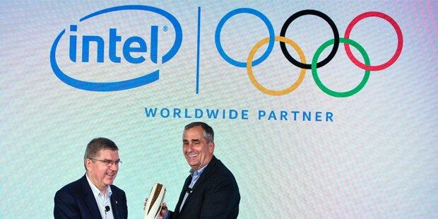Intel neuer Top-Sponsor bei Olympiade