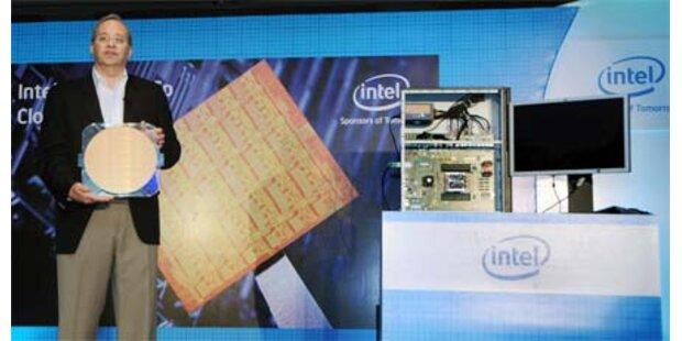 Intel trumpft mit neuen Super-Chips auf