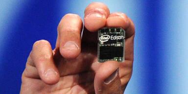 Intel-Computer in SD-Karten-Größe