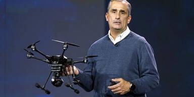 Intel setzt jetzt voll auf Drohnen