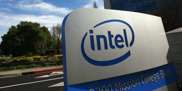 Chiphersteller Intel senkte Umsatzprognose