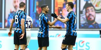 Inter Mailand baut Vorsprung weiter aus