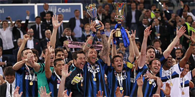 Inter tröstet sich mit Cup-Sieg