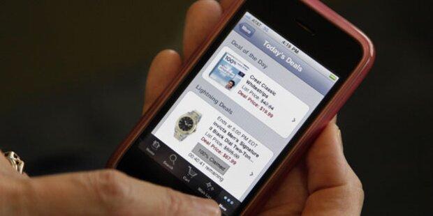 Jeder Fünfte nutzt das Internet via Handy